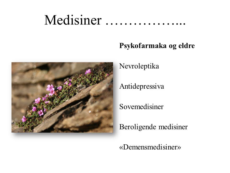 Medisiner ……………...