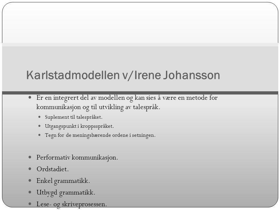 Karlstadmodellen v/Irene Johansson