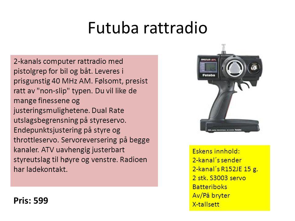 Futuba rattradio Pris: 599