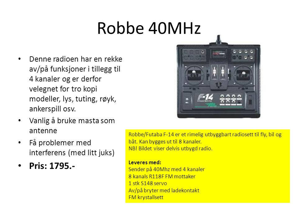 Robbe 40MHz