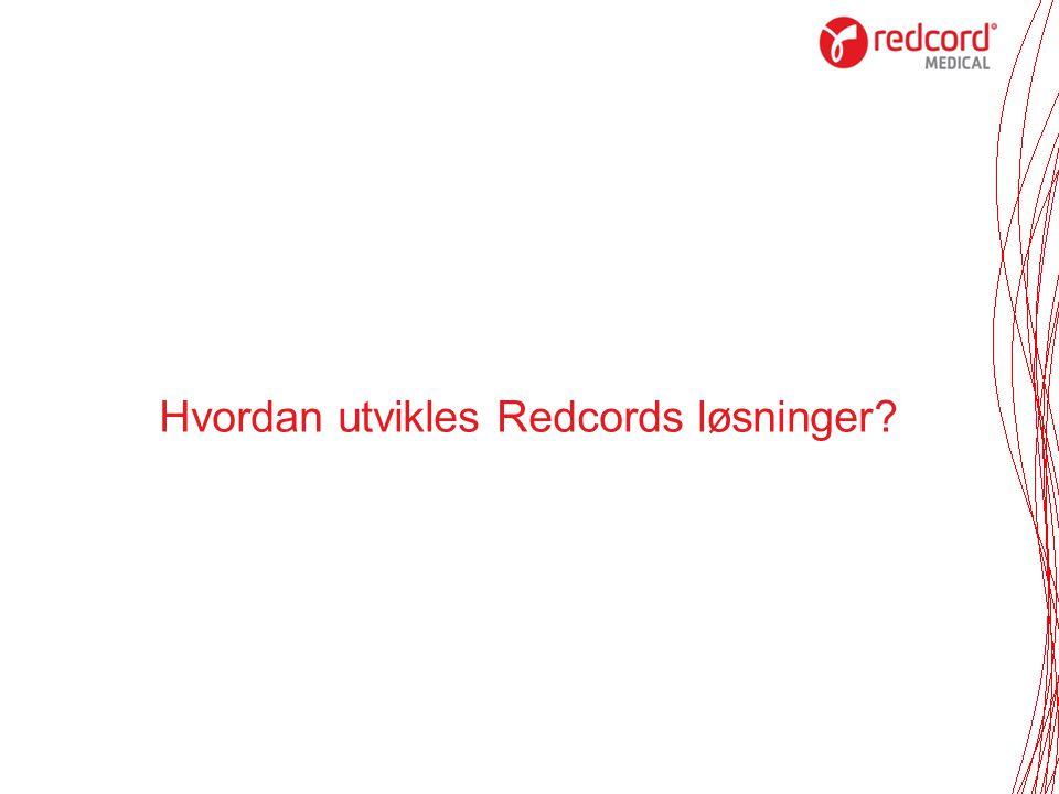 Hvordan utvikles Redcords løsninger