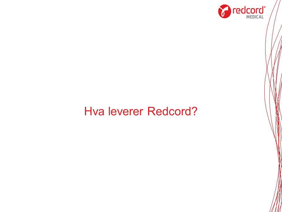 Hva leverer Redcord