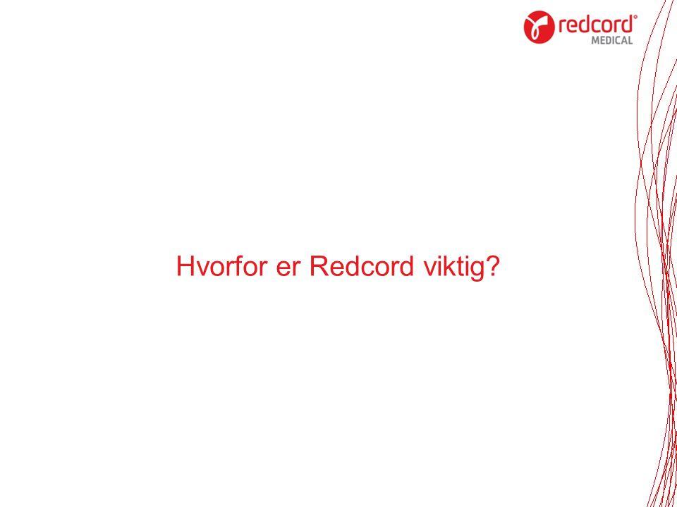Hvorfor er Redcord viktig