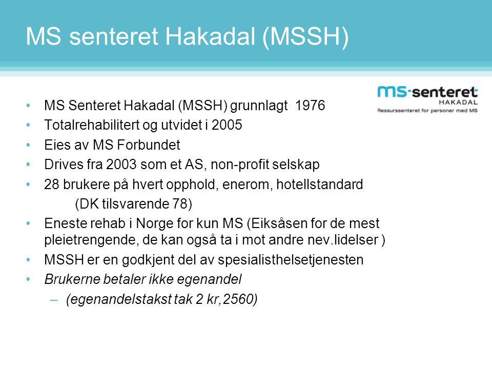 MS senteret Hakadal (MSSH)