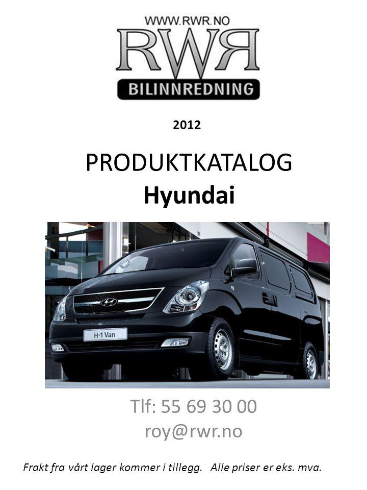 PRODUKTKATALOG Hyundai