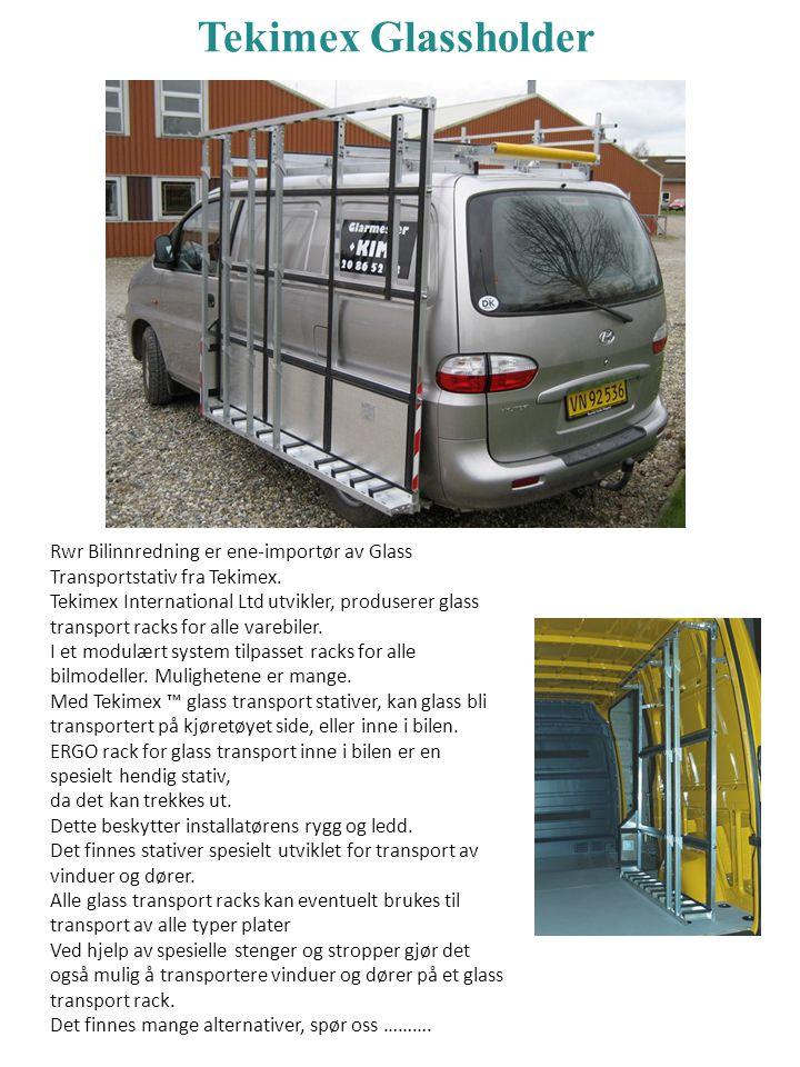 Tekimex Glassholder Rwr Bilinnredning er ene-importør av Glass Transportstativ fra Tekimex.