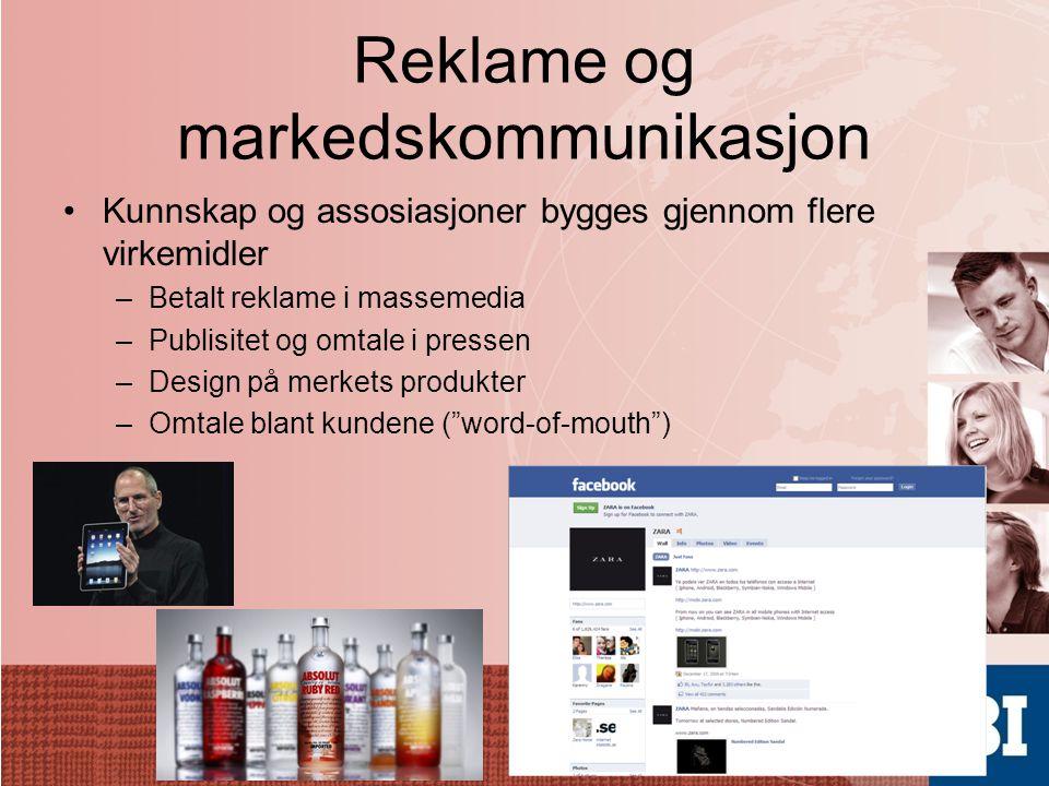 Reklame og markedskommunikasjon