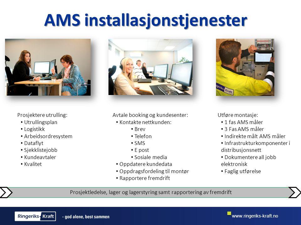 AMS installasjonstjenester