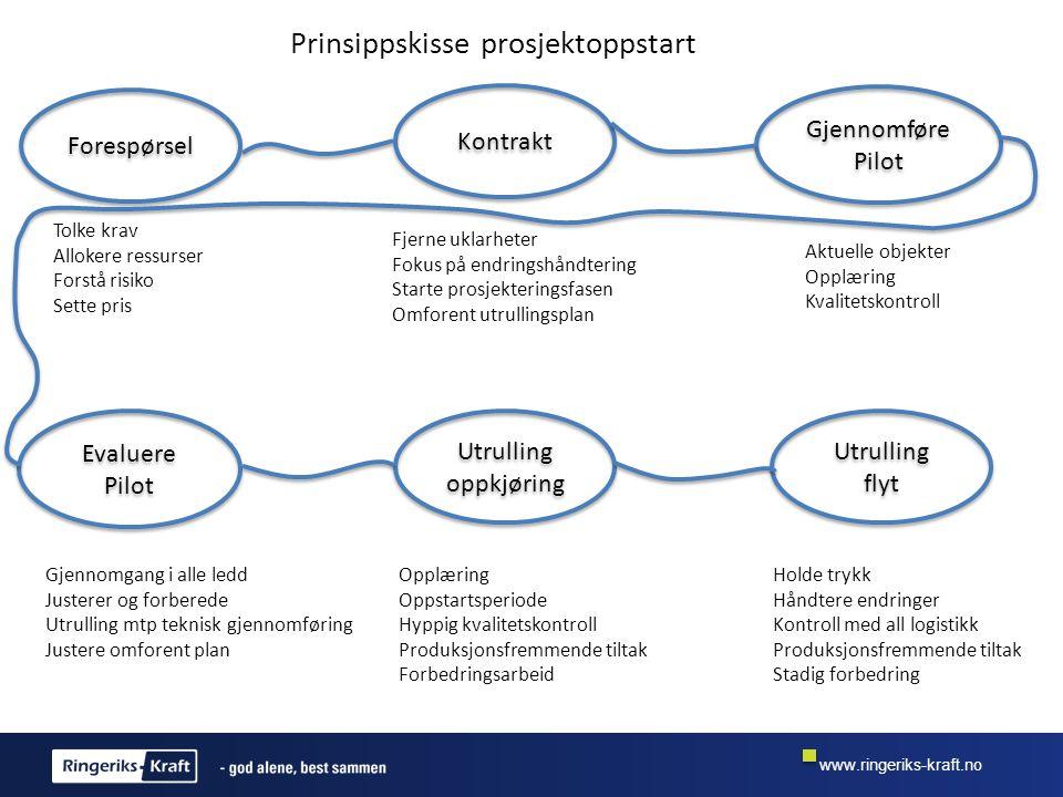 Prinsippskisse prosjektoppstart