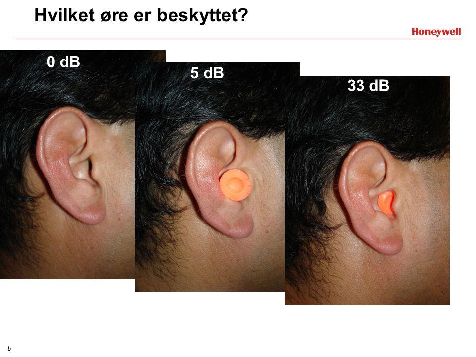 Hvilket øre er beskyttet
