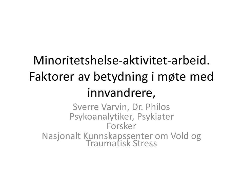 Minoritetshelse-aktivitet-arbeid