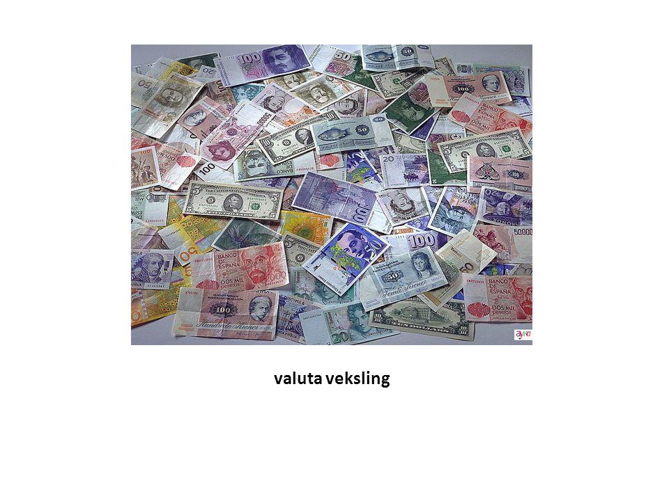 valuta veksling