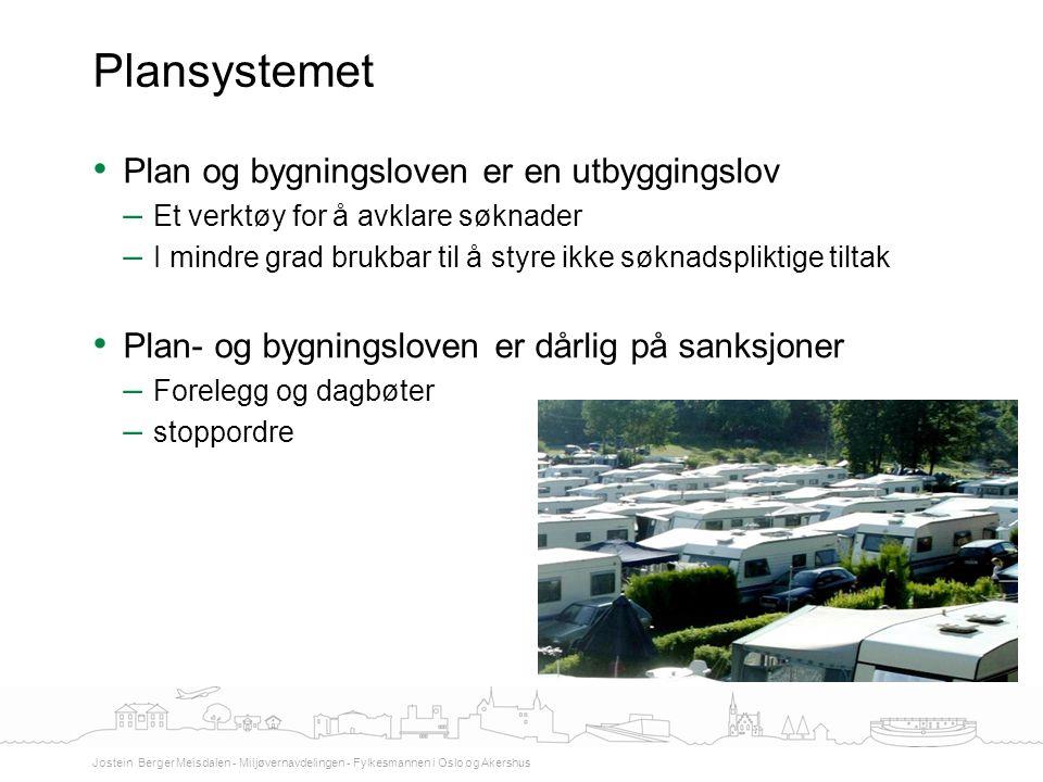 Plansystemet Plan og bygningsloven er en utbyggingslov