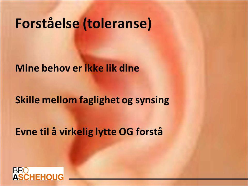 Forståelse (toleranse)