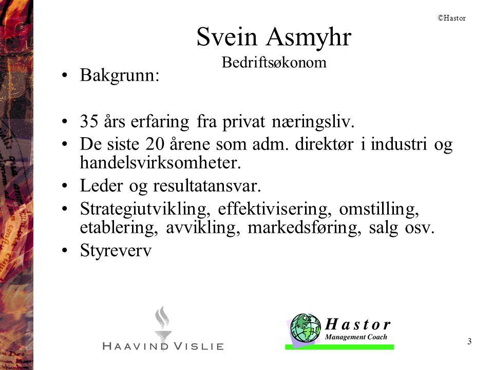 Svein Asmyhr Bedriftsøkonom