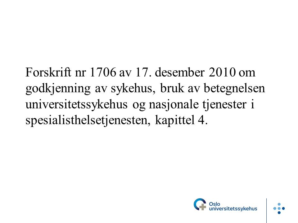 Forskrift nr 1706 av 17.