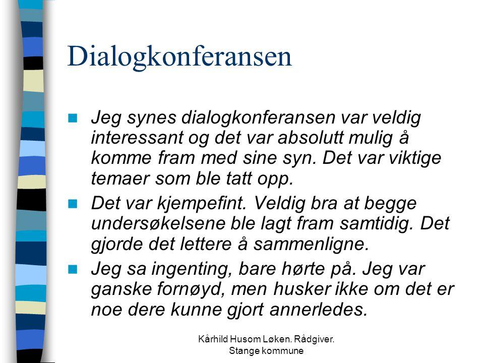Kårhild Husom Løken. Rådgiver. Stange kommune