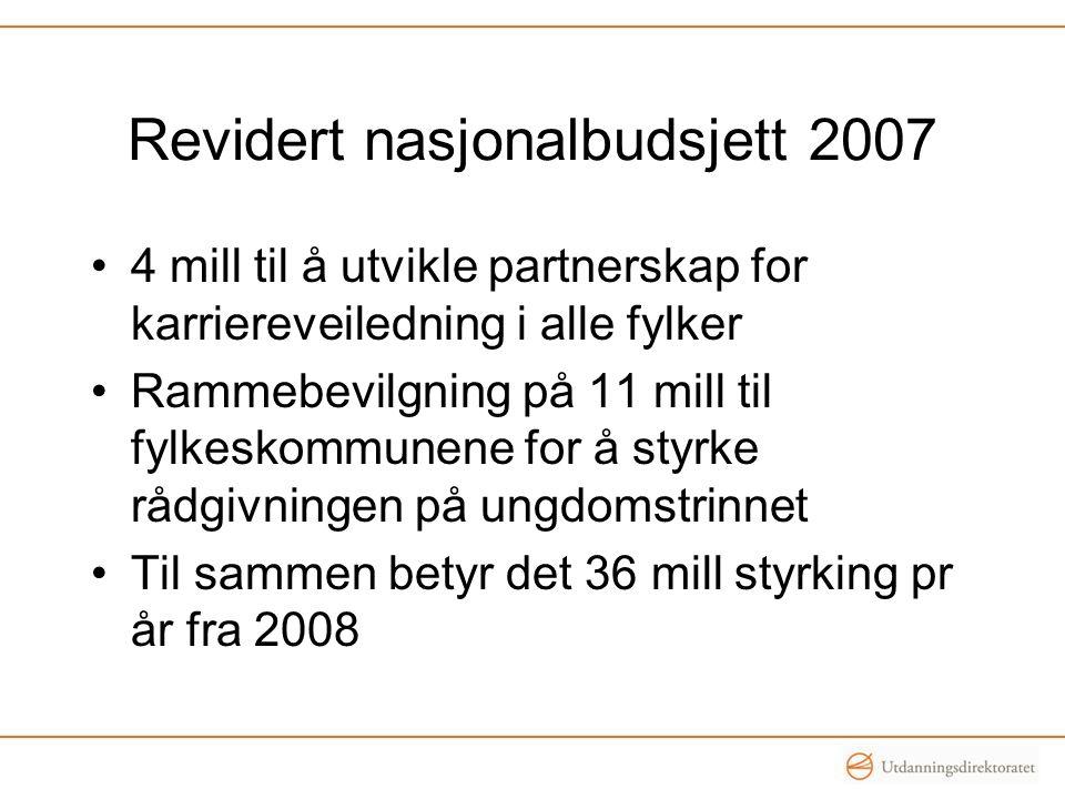 Revidert nasjonalbudsjett 2007