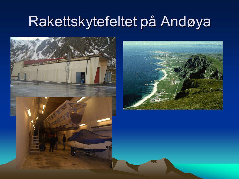 Rakettskytefeltet på Andøya