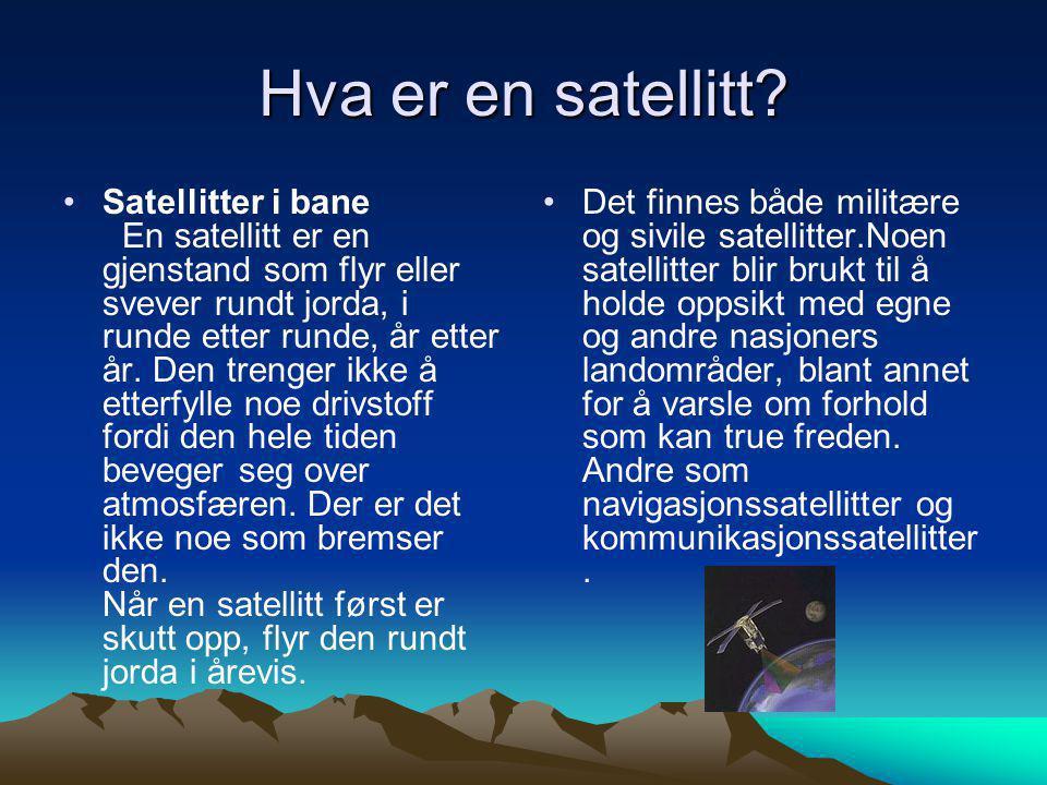 Hva er en satellitt