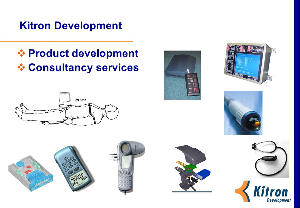 Kitron Development Product development Consultancy services