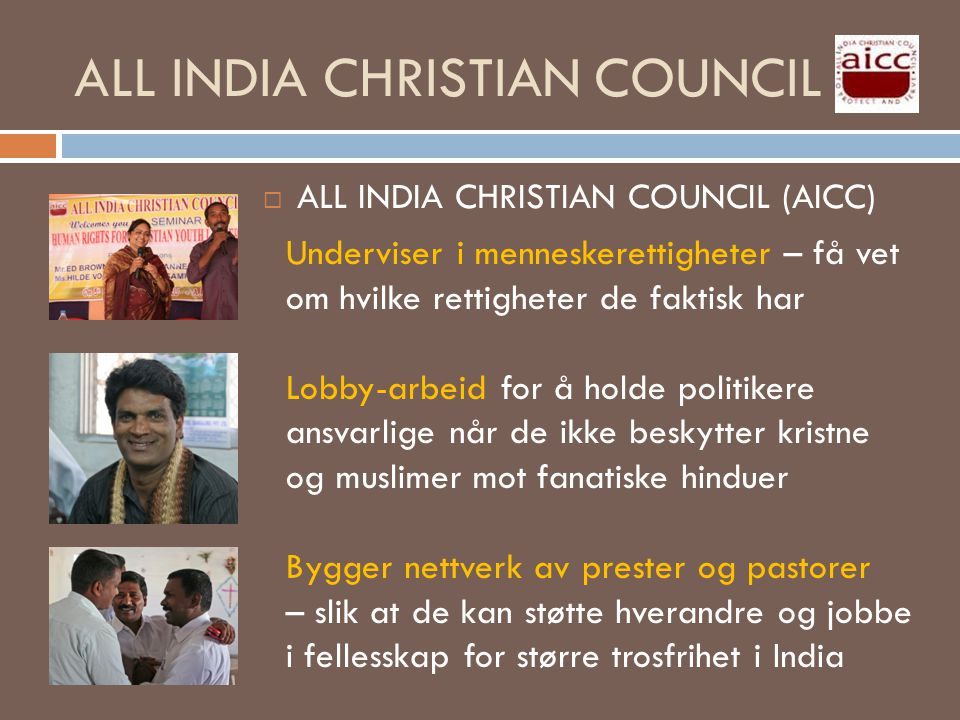 ALL INDIA CHRISTIAN COUNCIL