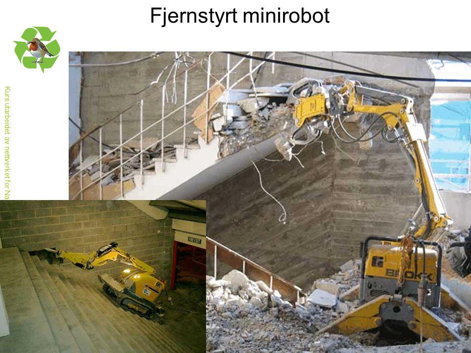 Fjernstyrt minirobot