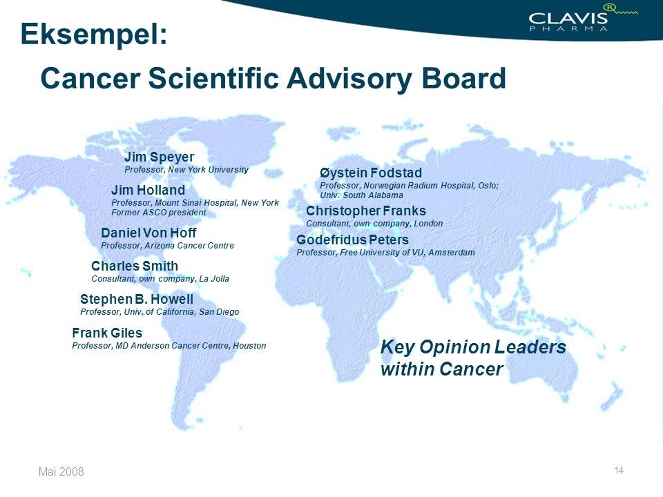 Cancer Scientific Advisory Board