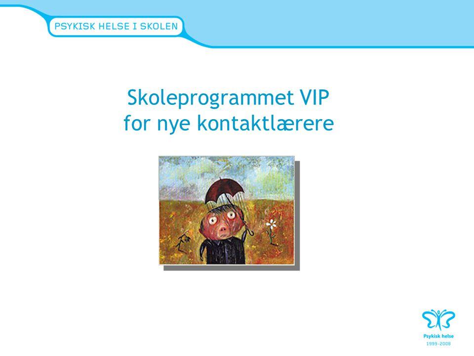 Skoleprogrammet VIP for nye kontaktlærere