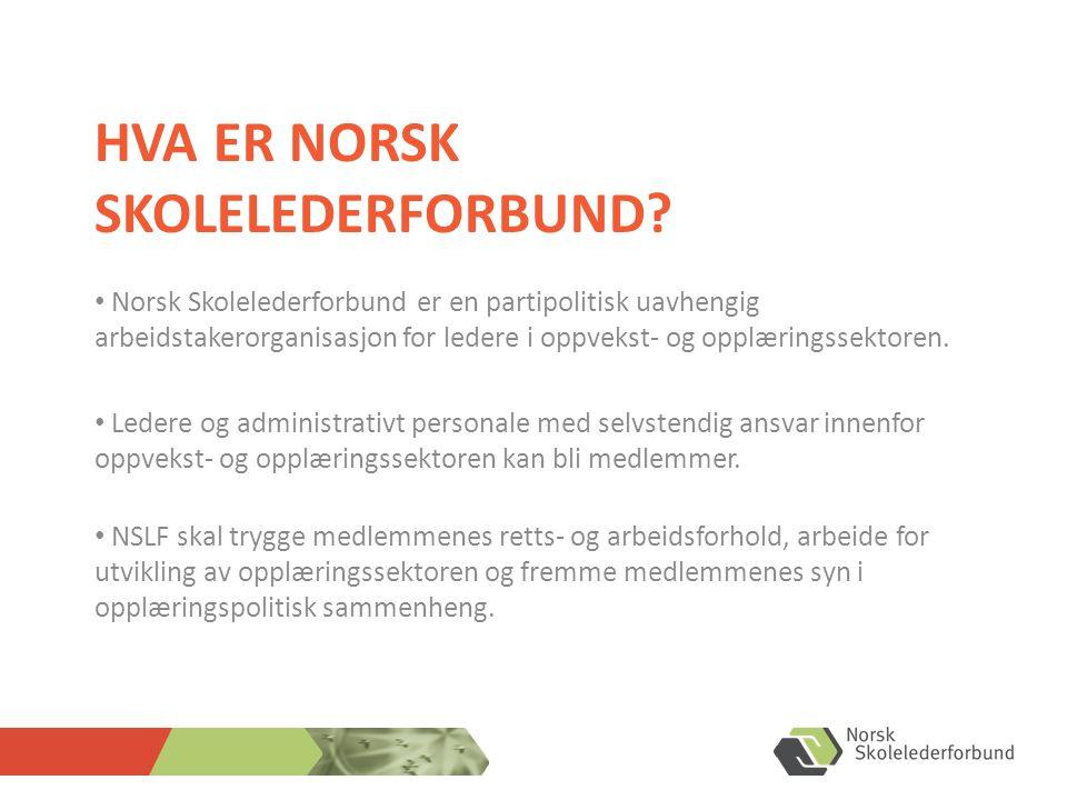 Hva ER Norsk Skolelederforbund