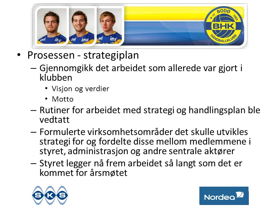 Prosessen - strategiplan