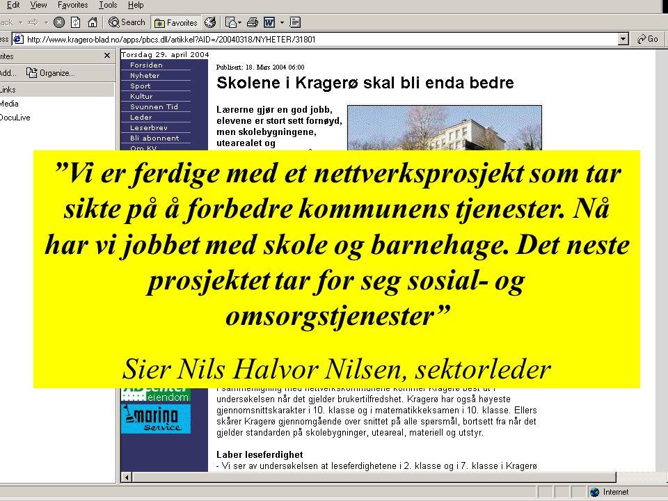 Sier Nils Halvor Nilsen, sektorleder