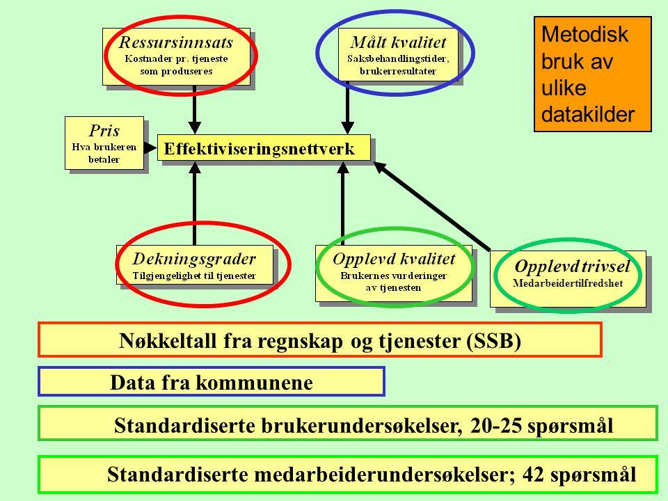 Metodisk bruk av ulike datakilder