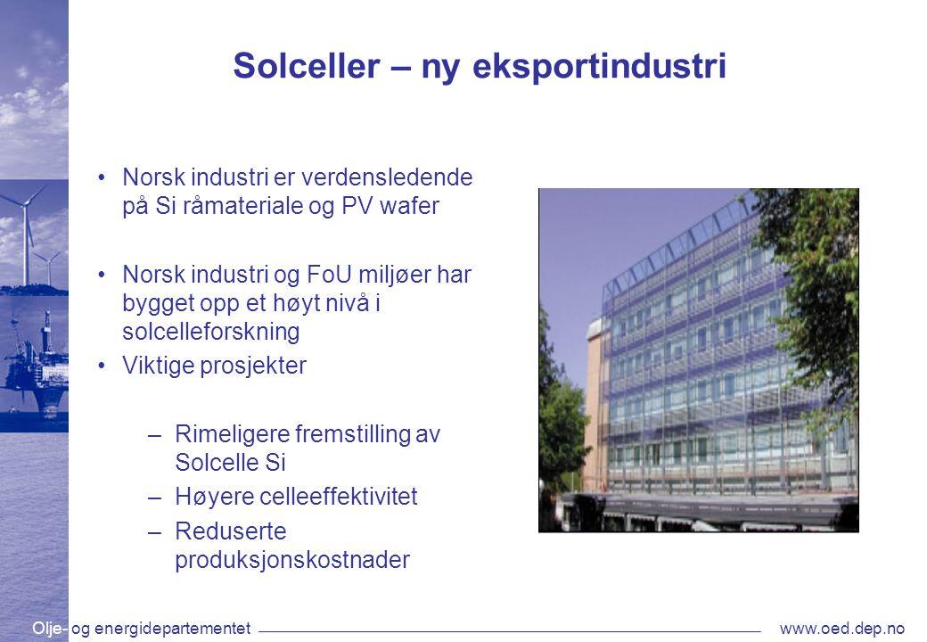 Solceller – ny eksportindustri