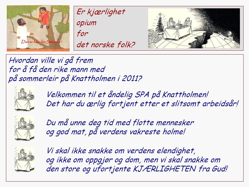 Er kjærlighet opium for det norske folk