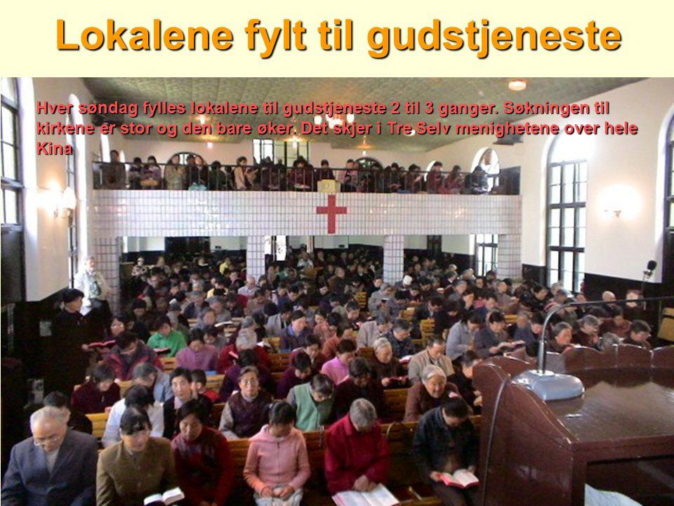 Lokalene fylt til gudstjeneste
