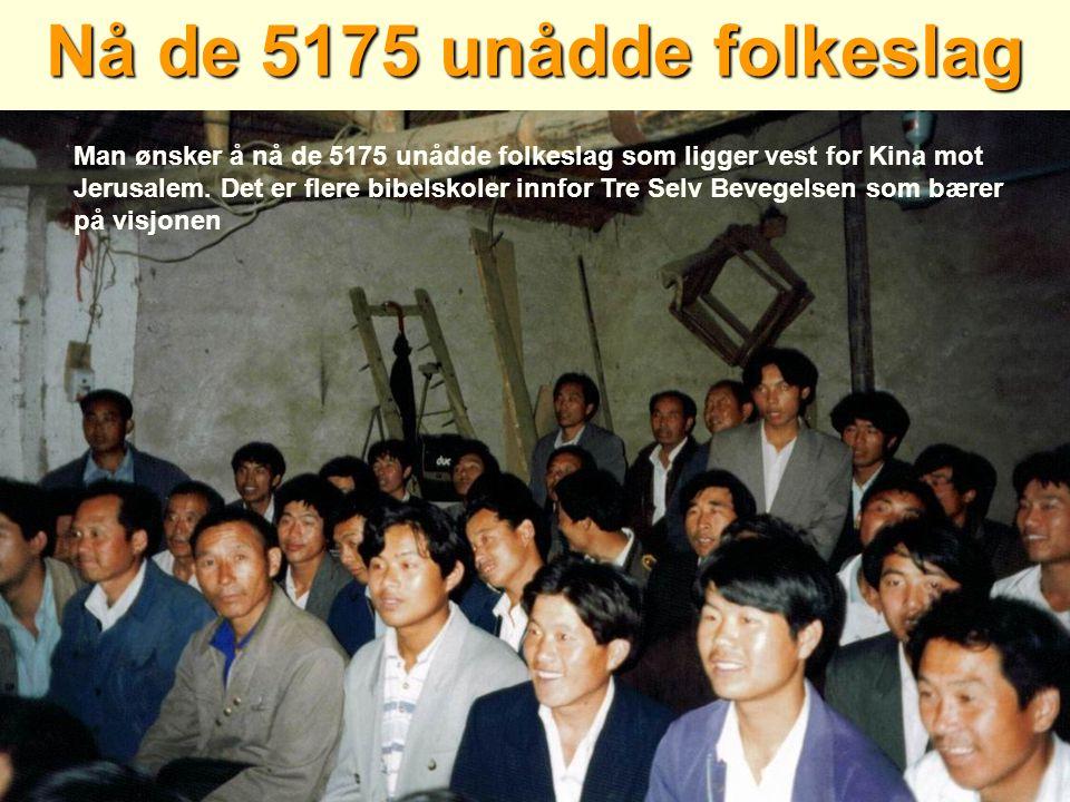 Nå de 5175 unådde folkeslag