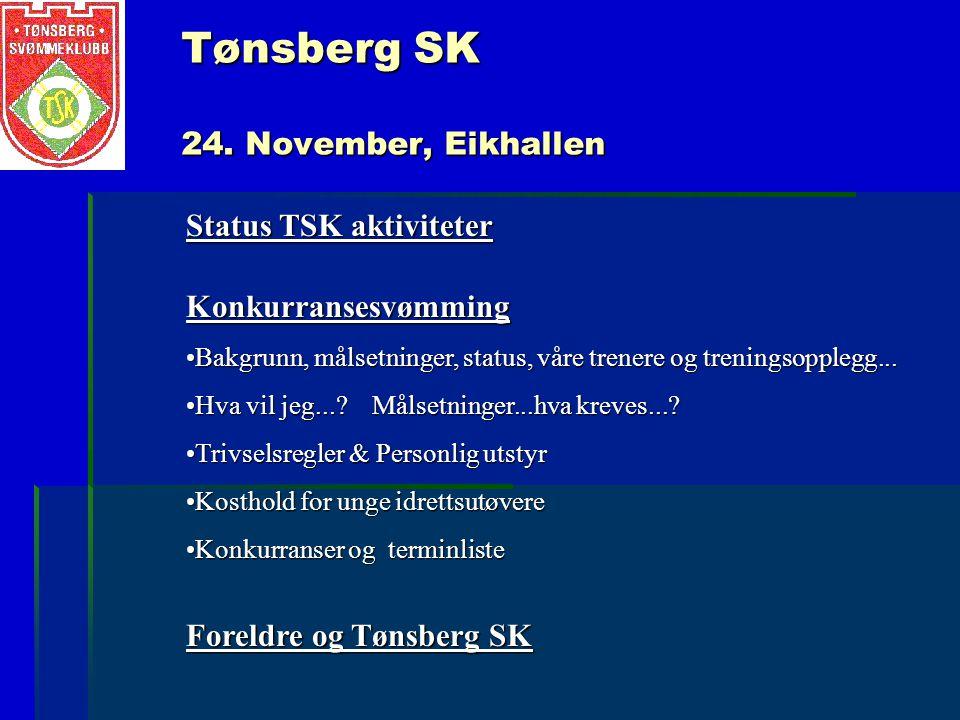 Tønsberg SK 24. November, Eikhallen