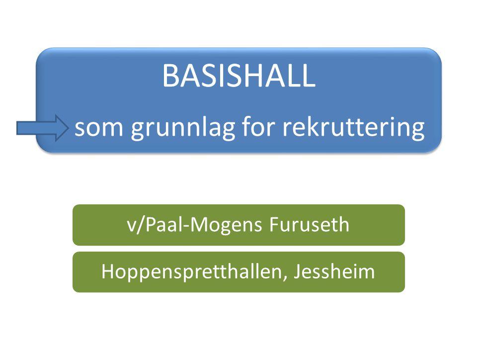 BASISHALL som grunnlag for rekruttering v/Paal-Mogens Furuseth