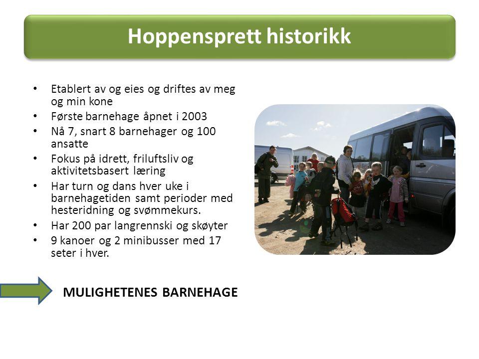 Hoppensprett historikk