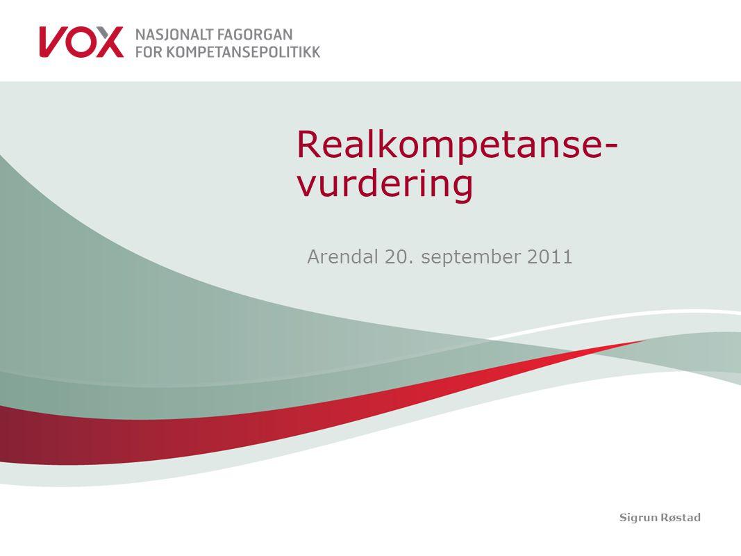 Realkompetanse-vurdering