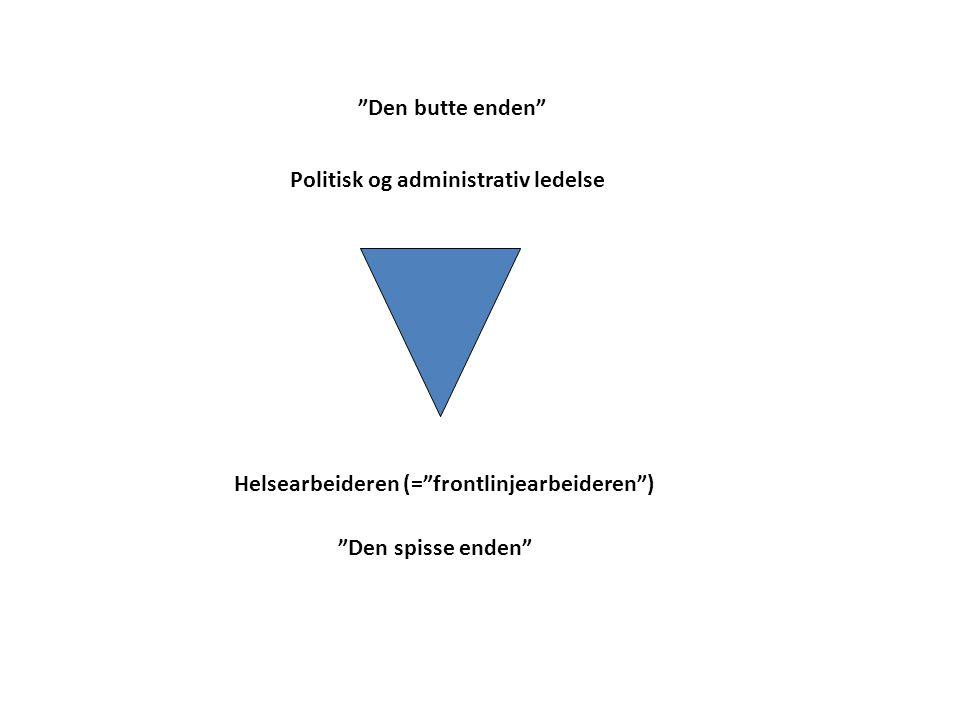 Politisk og administrativ ledelse