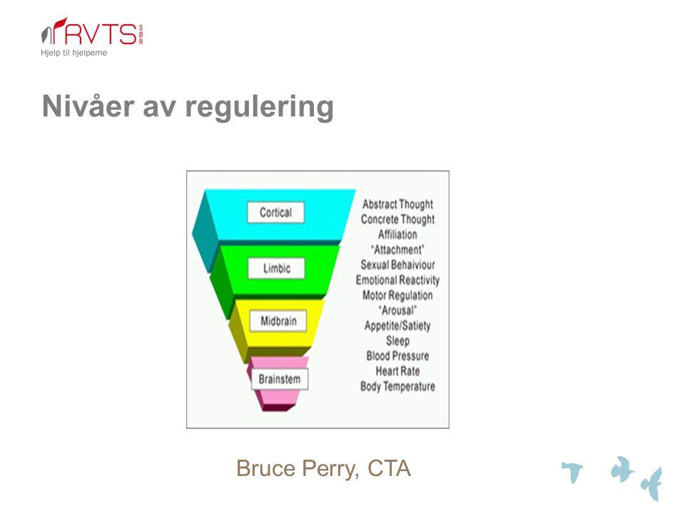 Nivåer av regulering Bruce Perry, CTA