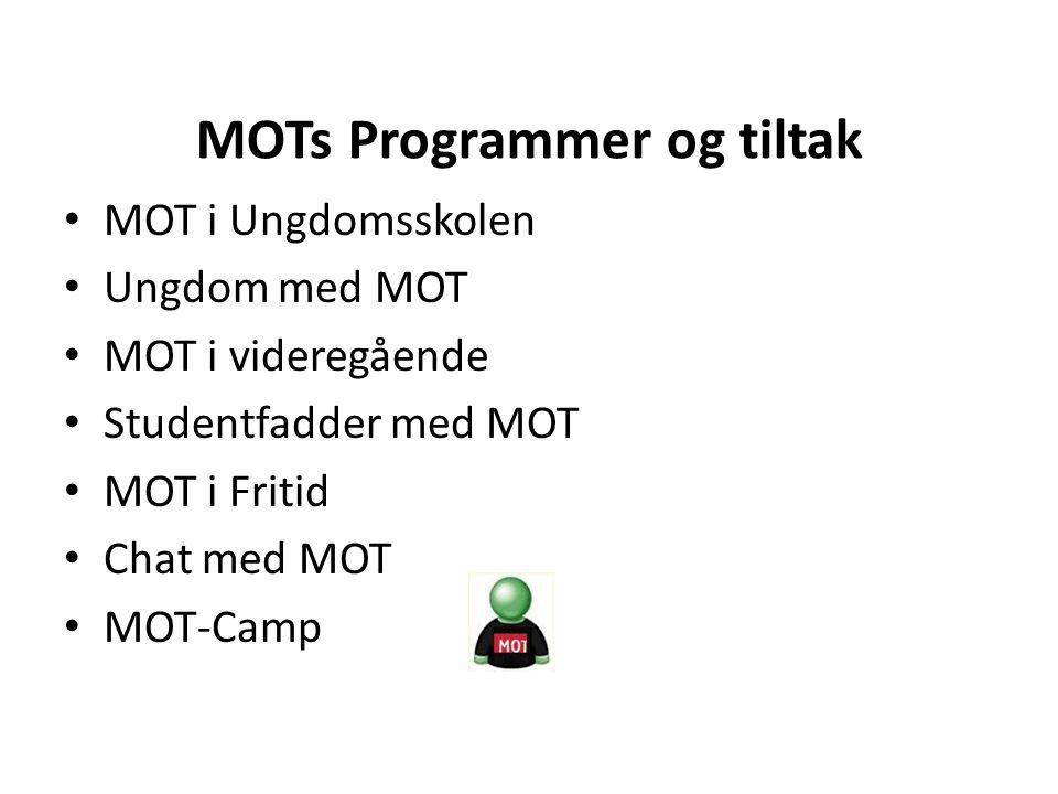 MOTs Programmer og tiltak