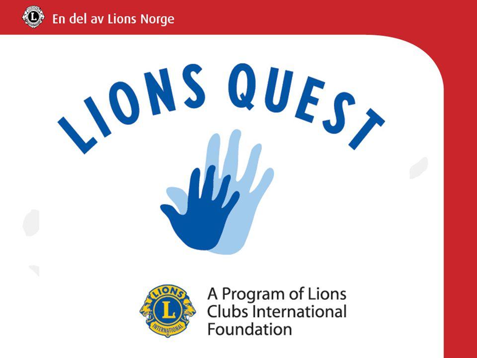 En del av det internasjonale Lions Quest, grunnlagt i 1975 i Ohio