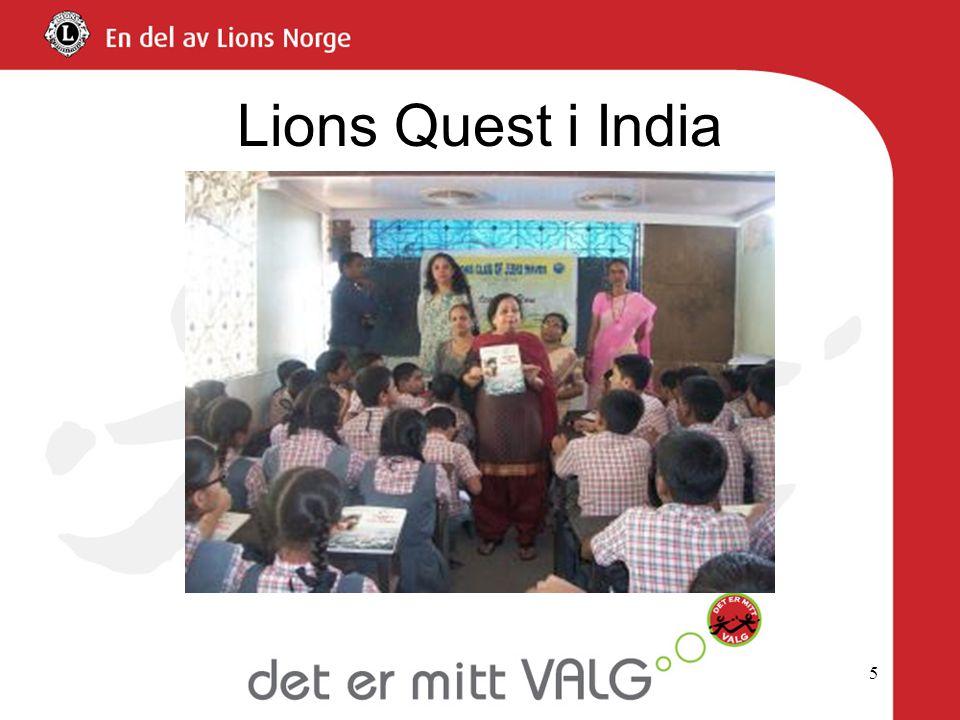 Lions Quest i India