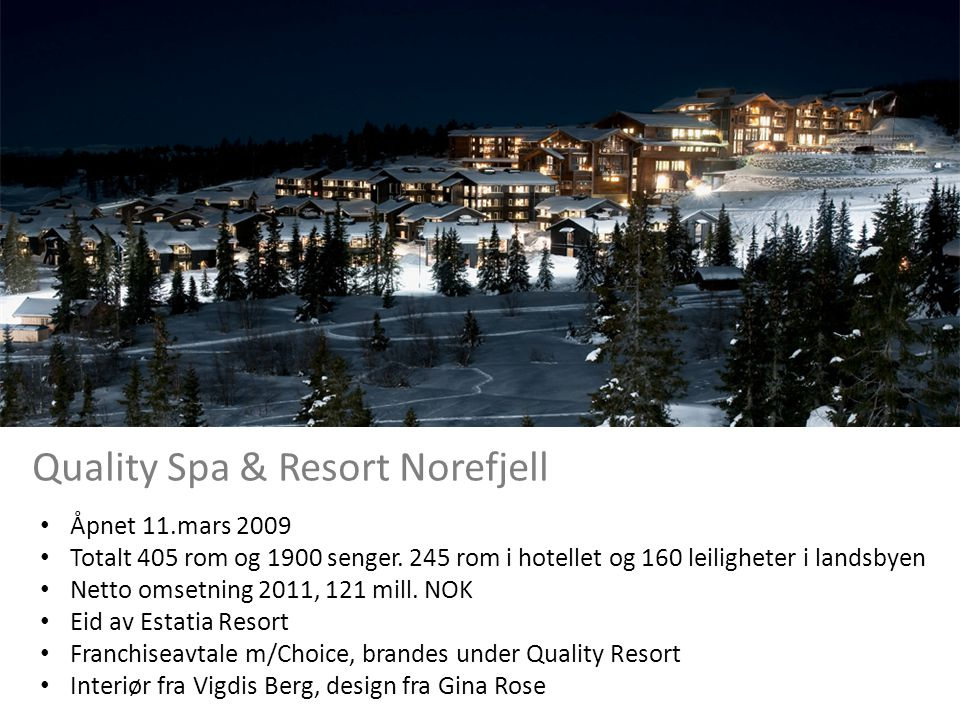 Quality Spa & Resort Norefjell