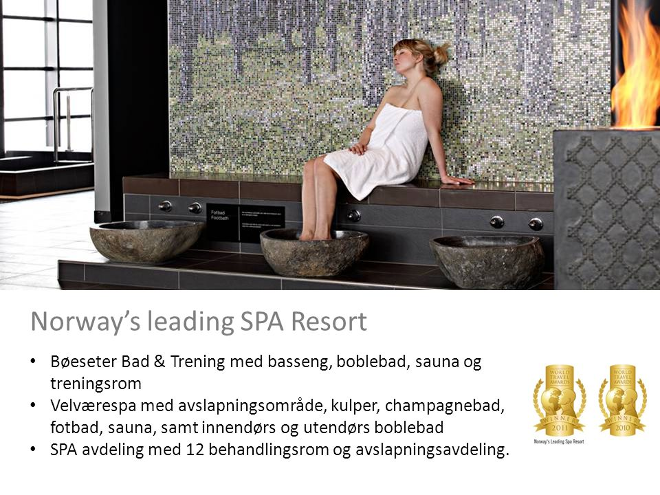 Norway's leading SPA Resort