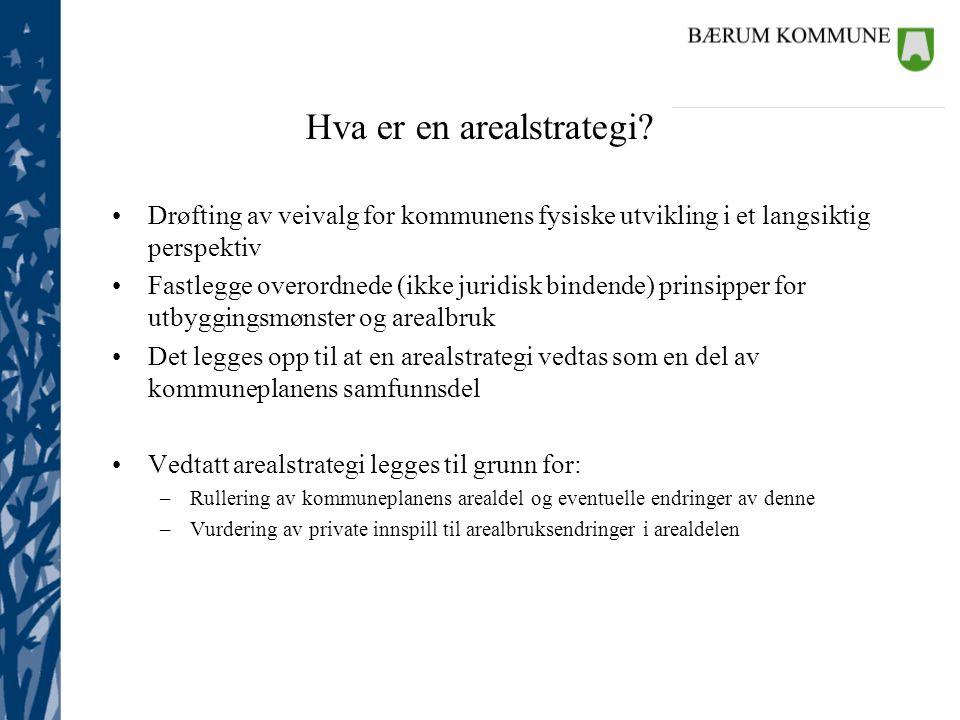 Hva er en arealstrategi
