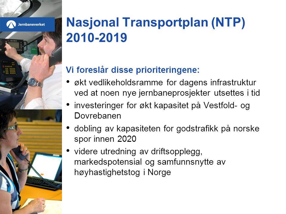 Nasjonal Transportplan (NTP) 2010-2019